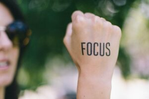 Focus on what is most important in your life.